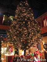 クリスマスの森ツリー